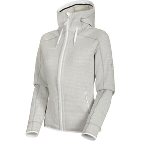 Mammut Arctic ML Hooded Jacket Women bright white-highway melange